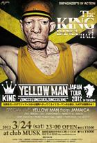 YELLOW MAN JAPAN TOUR フライヤーデザイン