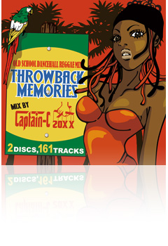 MIX CD CAPTAIN-C 20XX THROWBACK MEMRIES Vol.1