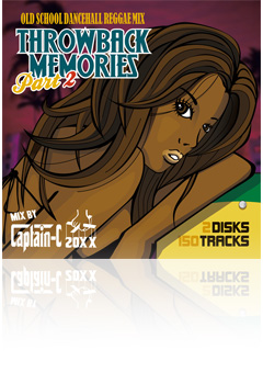 MIX CD CAPTAIN-C 20XX THROWBACK MEMRIES Vol.2